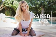 blonde babe Aiden Ashley